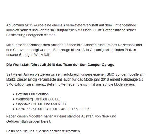 Wohnmobil-Werkstatt in  Gäufelden