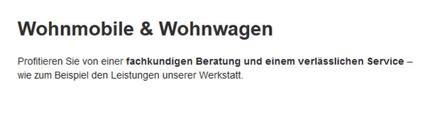 Wohnmobile-Wohnwagen für 86874 Tussenhausen