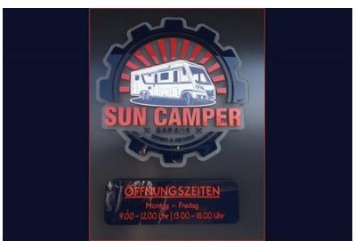 Sun-Camper-Garage in  Weida