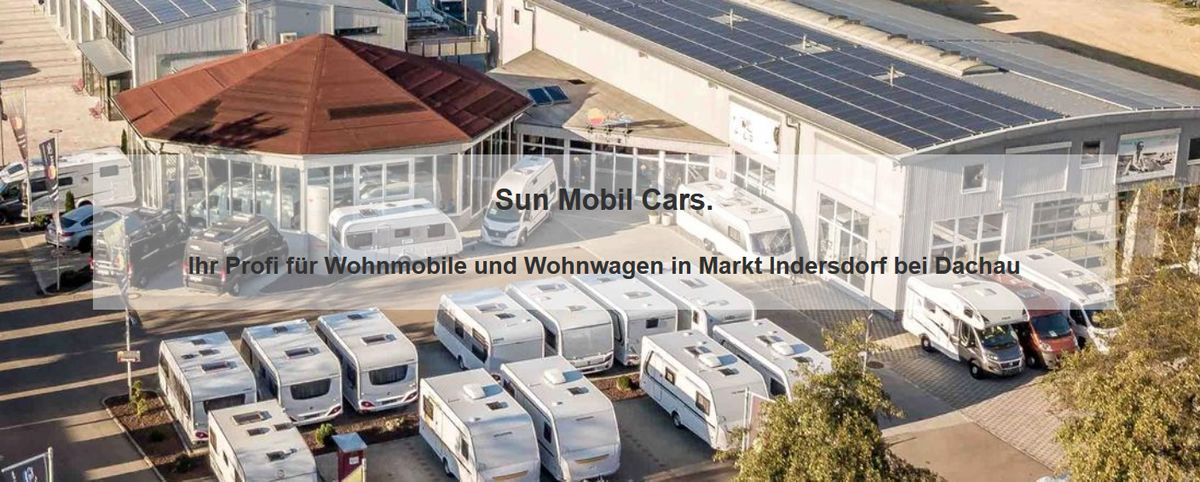 Wohnwagen für Weil - Sun Mobil Cars: Wohnmobil Vermietung & Verkauf, Kastenwagen, Caravan, Wohnanhänger