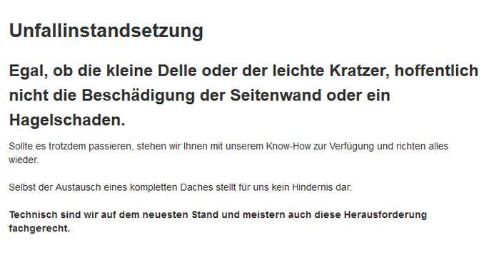 Unfallinstandsetzung in 06249 Mücheln (Geiseltal)