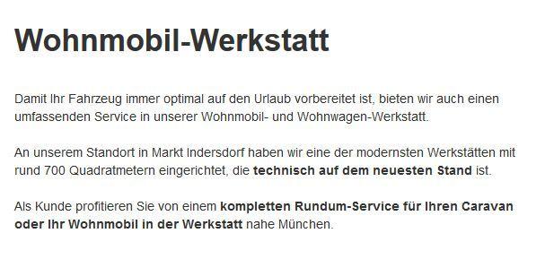 Wohnwagen-Reparatur in 33098 Paderborn